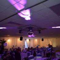 Beautiful Lighting Throughout the Reception